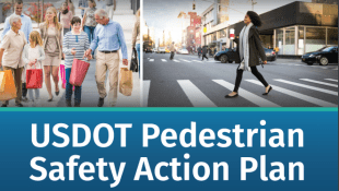 USDOT Releases Pedestrian Safety Action Plan