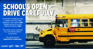 Fines and Suspensions Doubled for Passing Stopped School Buses