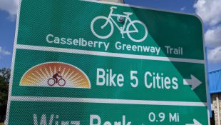 Bike 5 Cities Signs Become Permanent Fixtures in Casselberry