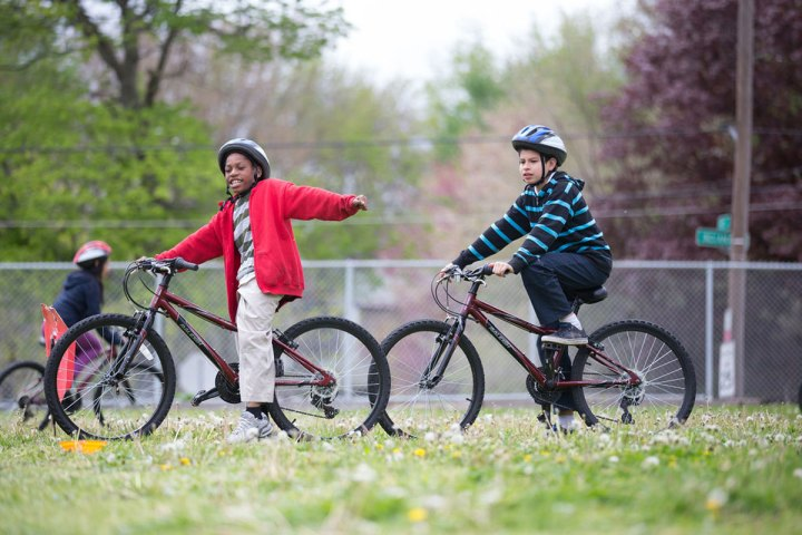 Learn about BLAST: Kids on Bikes, one of our youth education programs