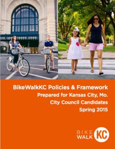 Download BikeWalkKC's 2015 City Policy Agenda