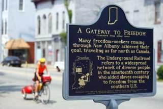 Blog: Bike Underground Railroad Sign