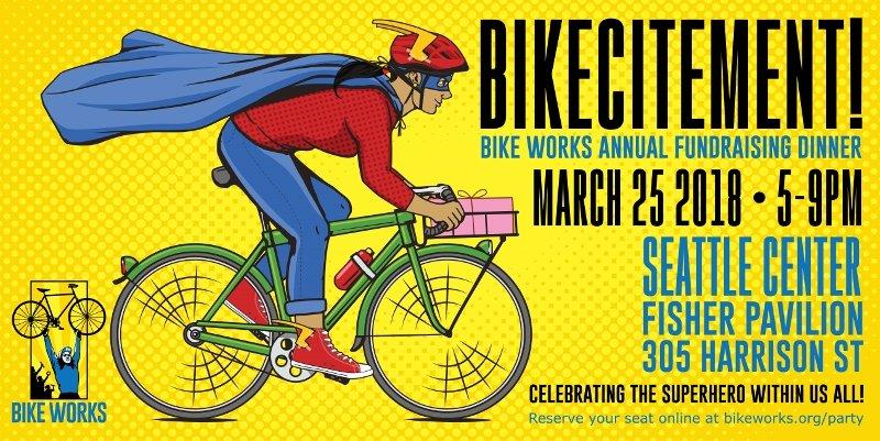 Bikecitement Annual Bike Works Auction Event 2018