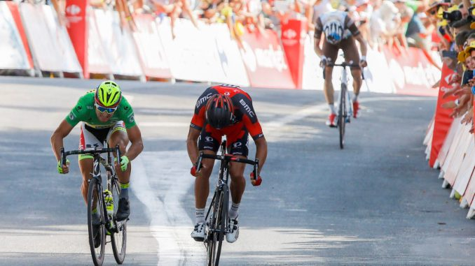 Tour de France 2015 - 102a Edizione - 13a tappa Muret - Rodez 198.5 km- 17/07/2015 - Greg Van Avermaet (BMC) - Peter Sagan (Tinkoff - Saxo) - foto Luca Bettini/BettiniPhoto©2015