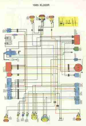 Wire Diagram Honda Mt125 | WIRING DIAGRAM