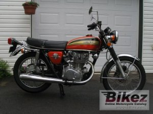 1974 Honda CB 450 disc specifications and pictures