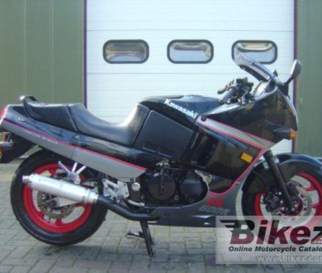 1989 Kawasaki Gpx 600 R