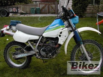 1989 Kawasaki Klr 250 Specifications