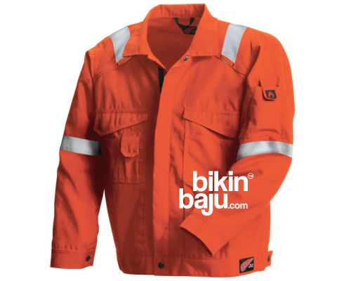 contoh model jaket safety wearpack coverall, jaket seragam safety work wearpack, seragam jaket safety wearpack coverall