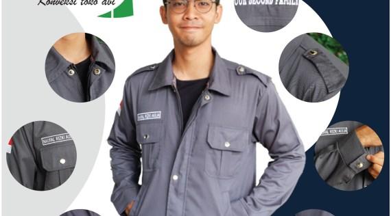 desain jaket almet