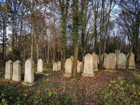 Jewish cemetery in Třebotov
