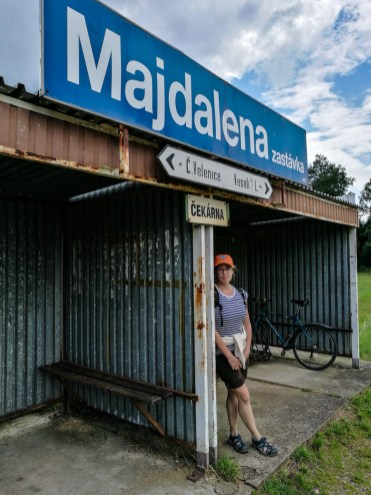 Train station Majdalena