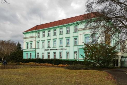 High school of gardening in Mělník