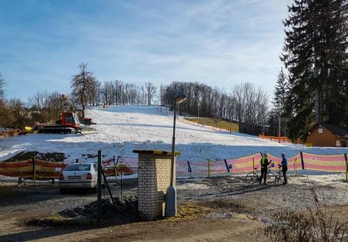 Ski slope Chotouň