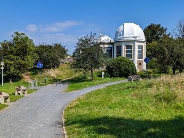 Observatory Ďáblice on Ládví hill