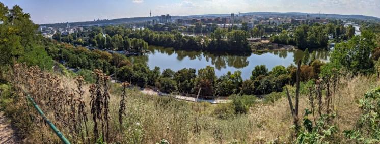 Panorama from Bulovka hill