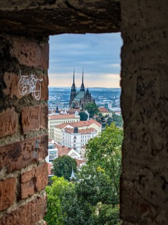 Brno, cathedral of St. Peter and Paul
