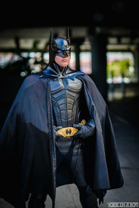 Dad in his amazing Batman costume!
