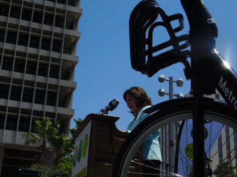 LA County Supervisor Hilda Solis