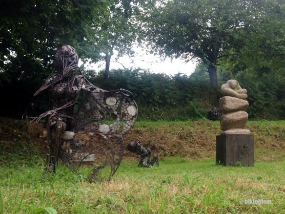 Skulpturen-Garten bei Boutron