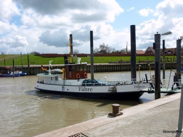 Unser Fährschiff in Ditzum