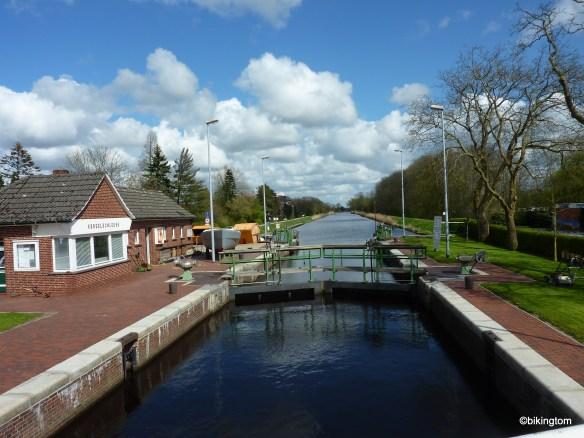 Kesselschleuse in Emden - europaweit einzigartig