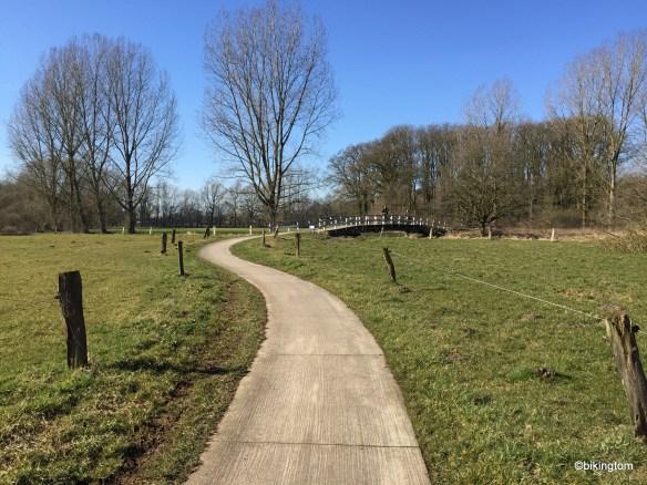 Radweg in den Niederlanden