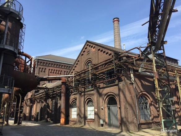 Im Industrielandschaftspark Duisburg...