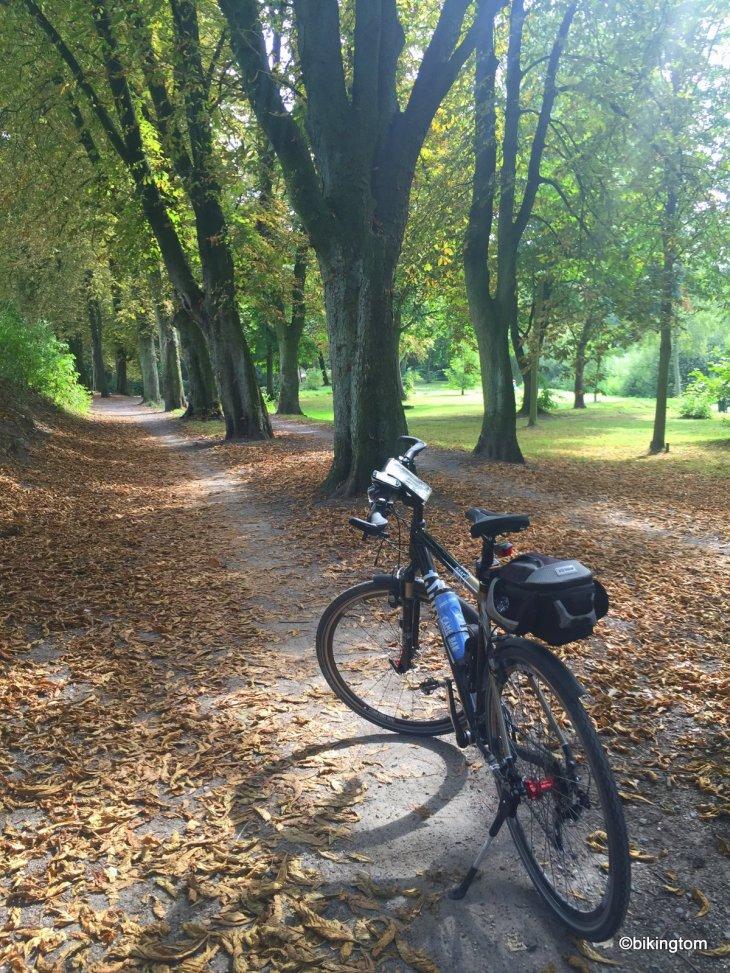 Fahrradtour bikingtom Stadtpark Werne