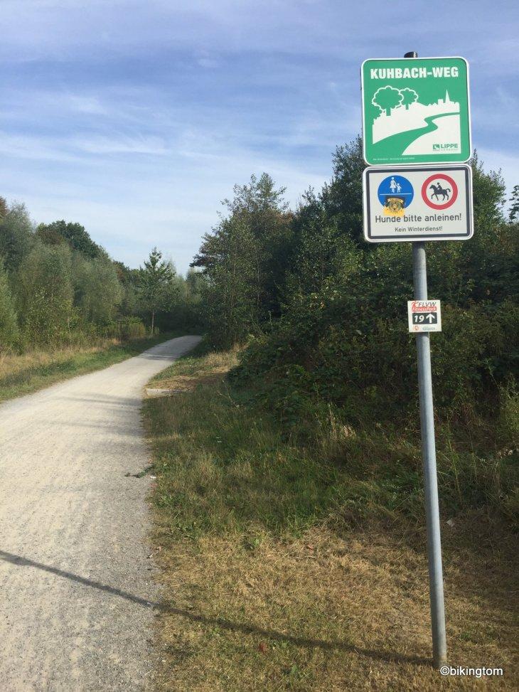 Fahrradtour bikingtom Kuhbachweg