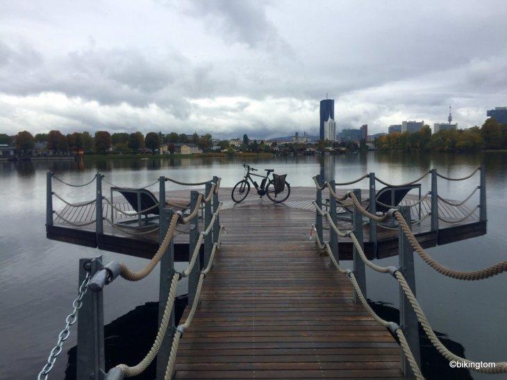 Radtour,bikingtom,Alte Donau,Erholung