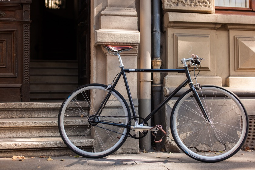 mika amaro lifestyle cushy black - ein Bike für den urbanen Alltag! Foto: © mika amaro