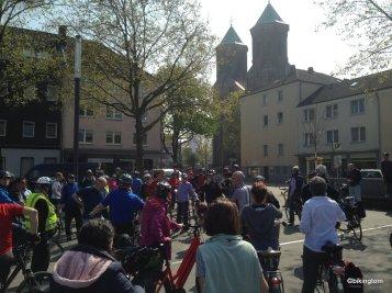 ADFC Essen,Rolf Fliß,NRW-Umweltminister Remmel,Simone Raskob,bikingtomne Raskop,bikingtom