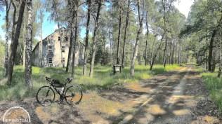 Uckermark,Brandenburg,Fahrrad,Radfahren,Kaserne Vogelsang