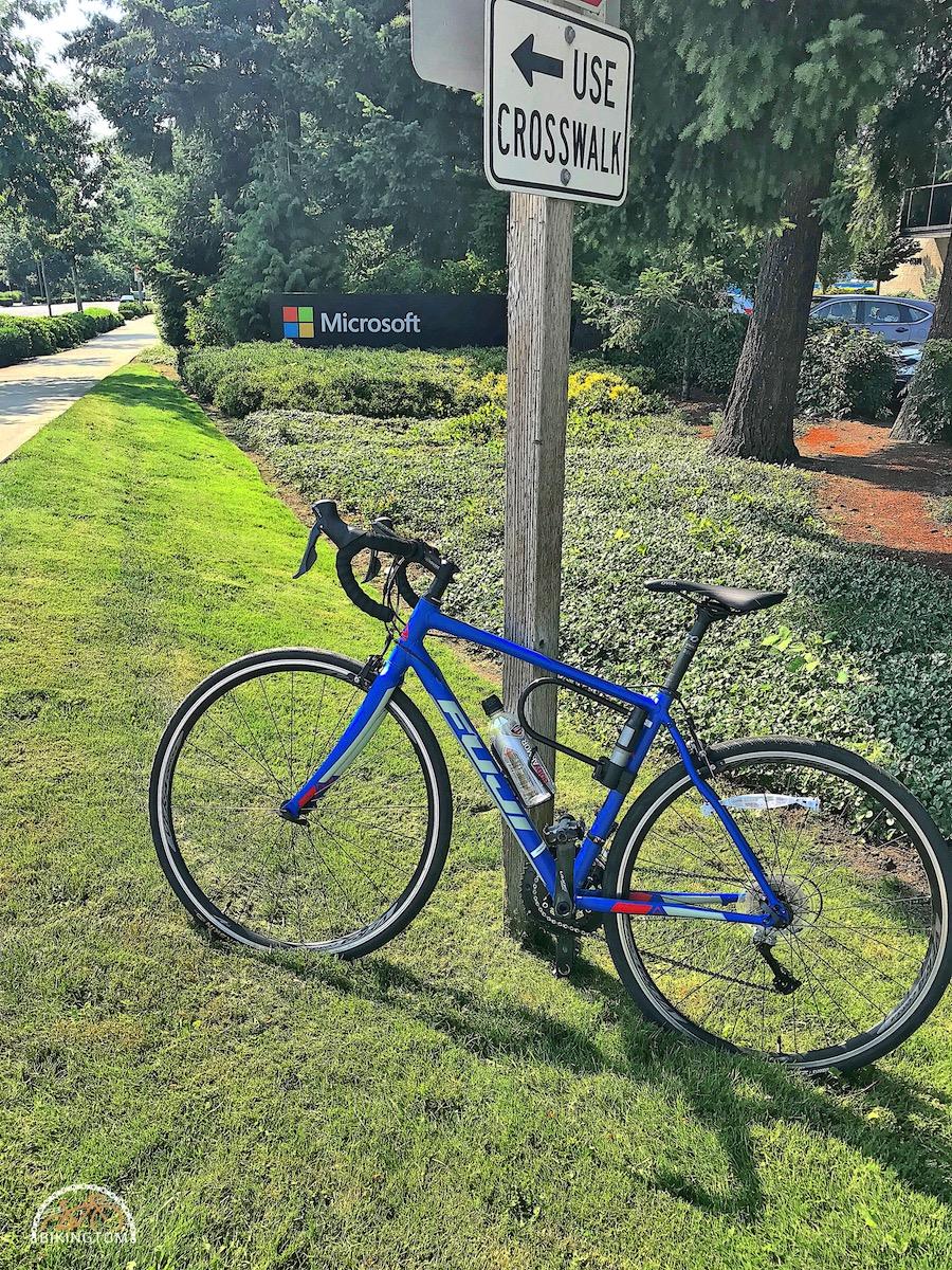 Seattle,Radfahren USA,Fahrrad,Microsoft,Redmond