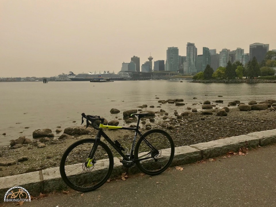 Radfahren Kanada,Cycling Canada,bikingtom,Vancouver Stanley Park,