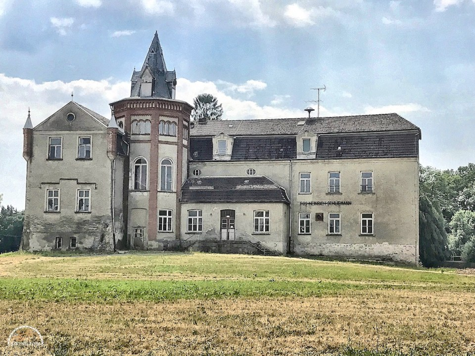 Uckermark,Brandenburg,Fahrrad,Radfahren,Schloss Ankershagen