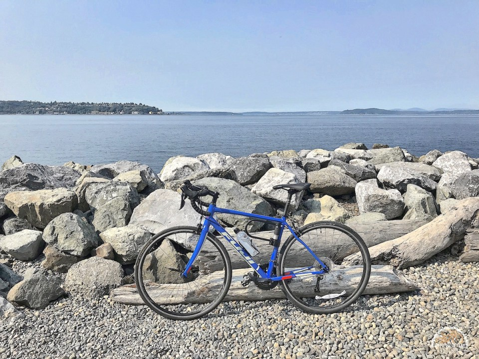 Seattle,Radfahren USA,Fahrrad,Ellliot Bay