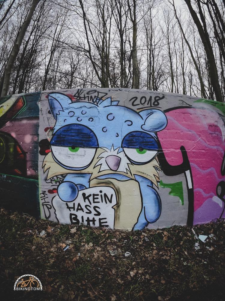 Gran Fondo,Strava,Radfahren,Ruhrpott,Graffiti,Dortmund,bikingtom