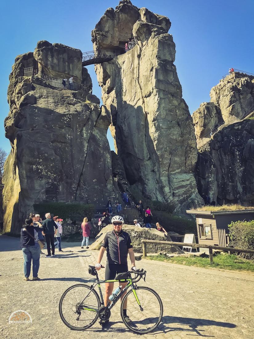 Teutoburger Wald,Rennrad,Hermannsdenkaml,Radfahren,Externsteine,bikingtom