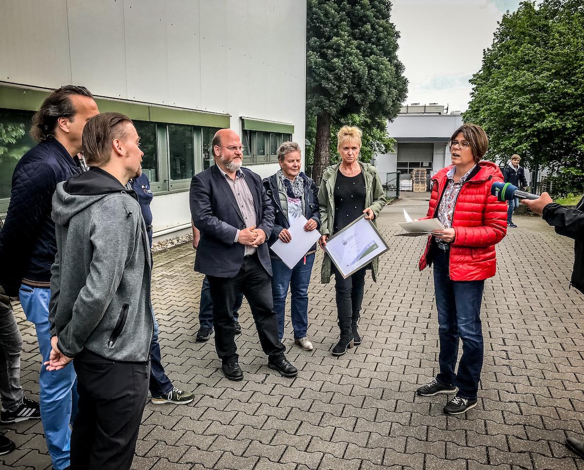 Auszeichnung fahrradfreundlicher Arbeitgeber,druckpartner,Stadt Essen,bikingtom,WDR