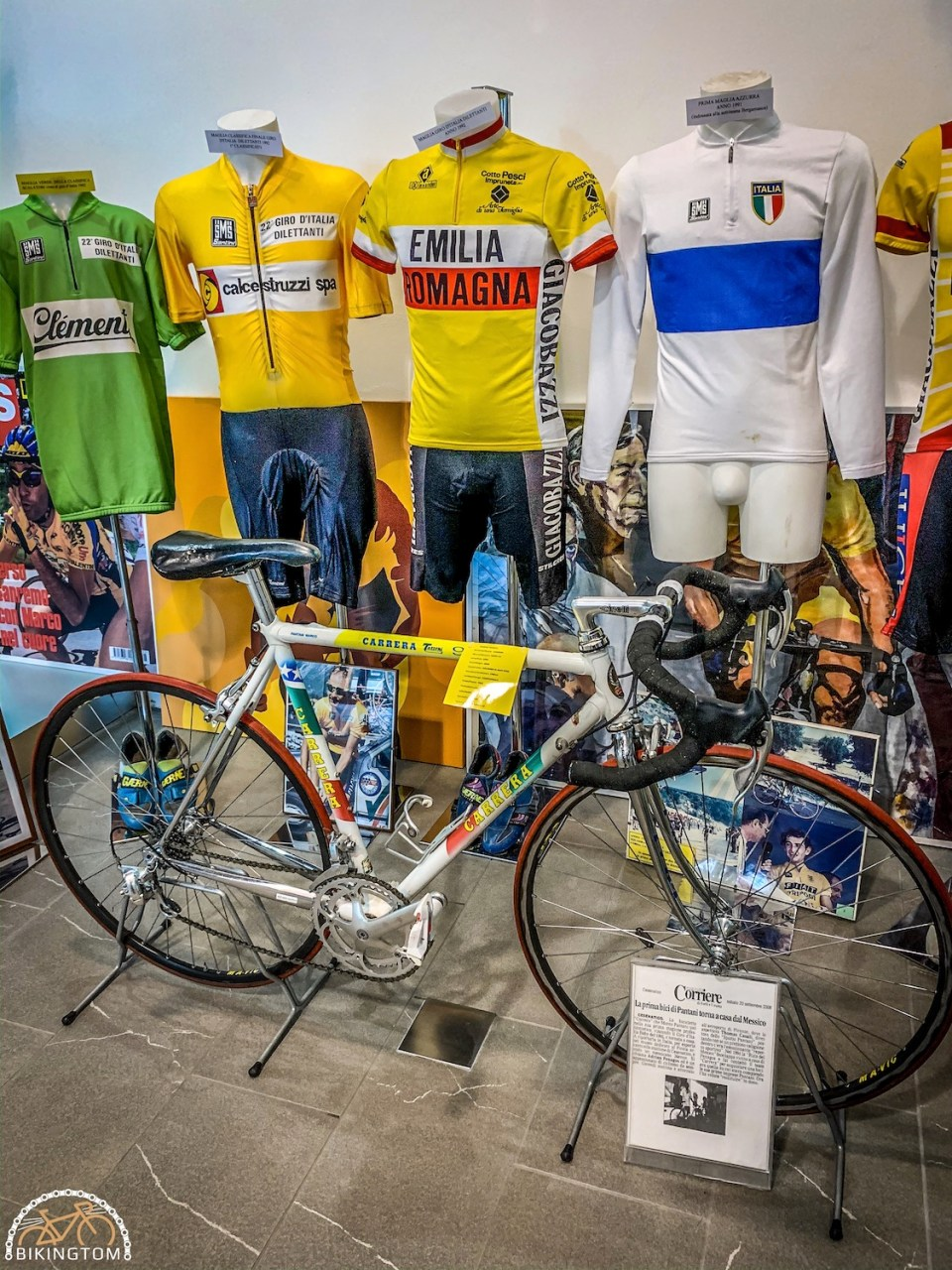 Rennrad,Grand Hotel Terme della Fratta,Emillia Romagna,Italien,Urlaub,Fahrrad,Marco Pantani