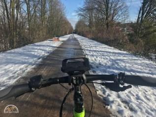 Radschnellweg,RS1,Fahrrad,Ruhrgebiet,Radfahren,Schnee