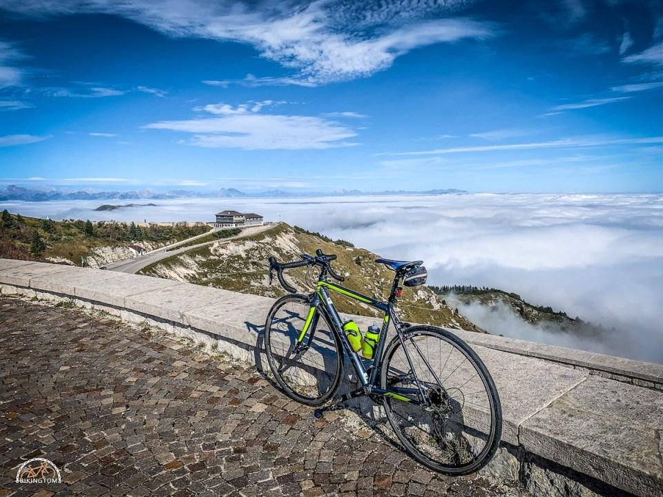 Monte Grappa,Rennrad
