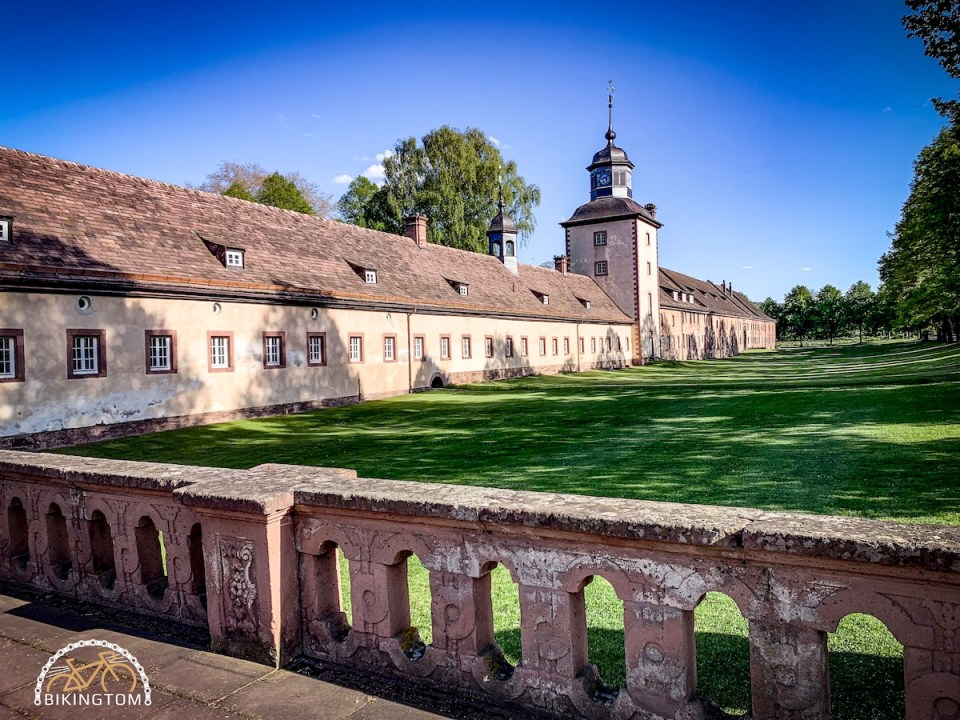 Genussradeln,Sauerland,Diemelradweg,Weserradweg,Kloster Corvey
