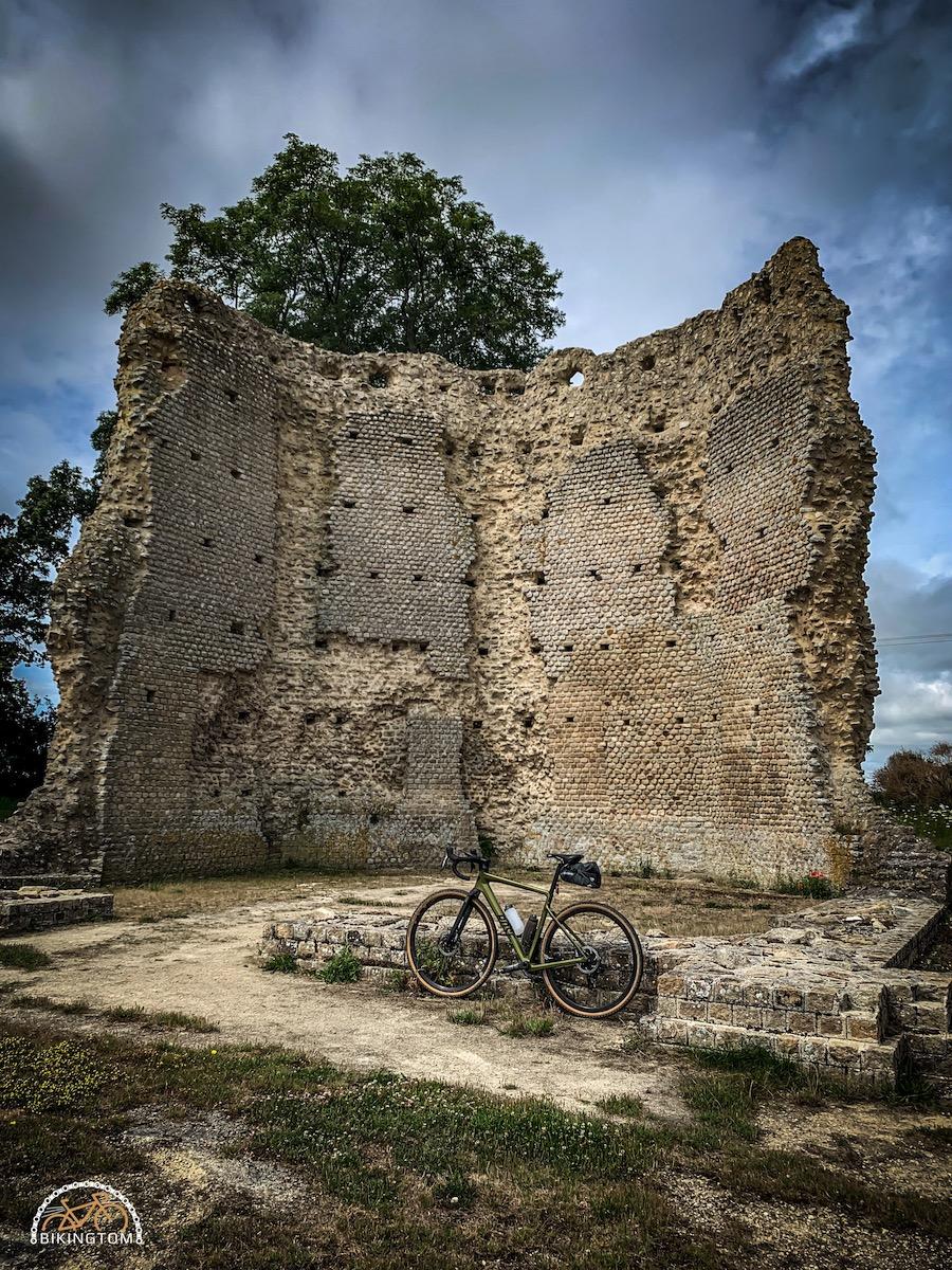 Bretagne,Radtouren,Fahrrad,Temple de Mars