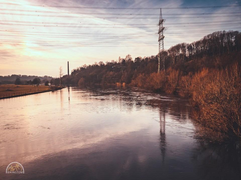 Gran Fondo,Strava,bikingtom,Ruhr,Hochwasser