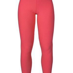 Leuchtend rosafarbene Fitness Leggings - Leg Piton Gelatina