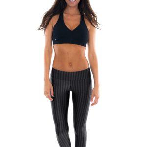 Schwarze Fitness Leggings - Leg Zap Preto