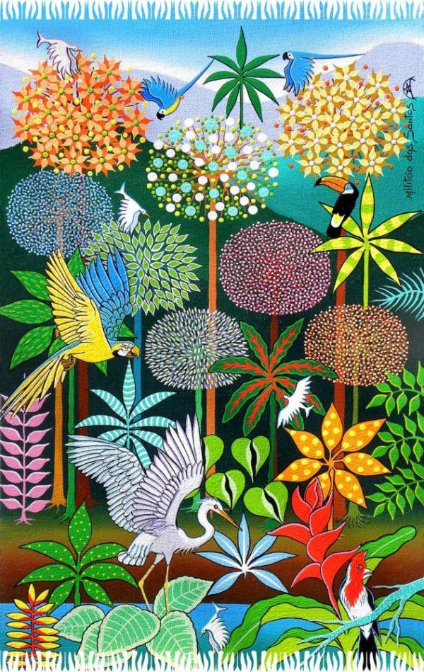 Pareo brasilianische Natur - Despertar Da Primavera